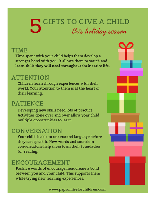 5 Gifts to Give a Child