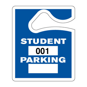 Student Parking Pass Information